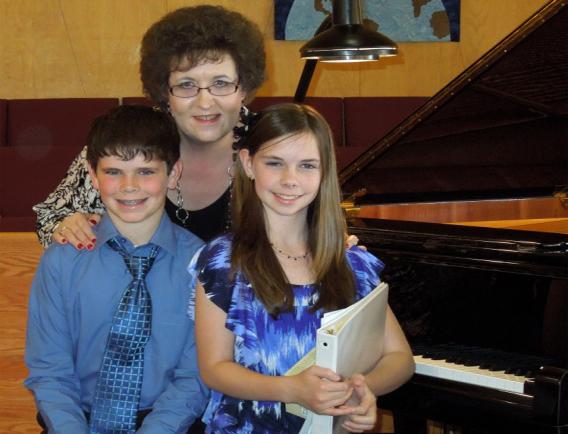 Teresa Copeland With Ryan & Ashley
